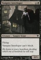 Innistrad Foil: Vampire Interloper