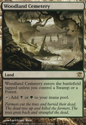 Innistrad: Woodland Cemetery