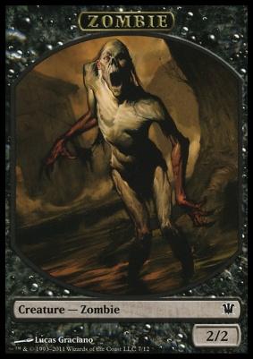 Innistrad: Zombie Token (#7)