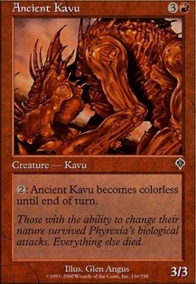 Invasion Foil: Ancient Kavu