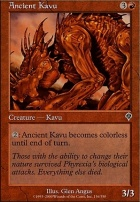 Invasion Foil: Ancient Kavu