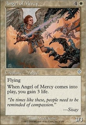 Invasion Foil: Angel of Mercy