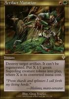 Invasion: Artifact Mutation