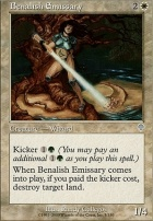 Invasion Foil: Benalish Emissary
