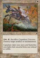 Invasion Foil: Capashen Unicorn