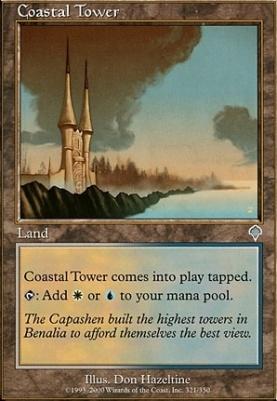 Invasion Foil: Coastal Tower
