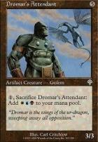 Invasion Foil: Dromar's Attendant