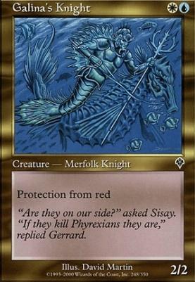Invasion: Galina's Knight