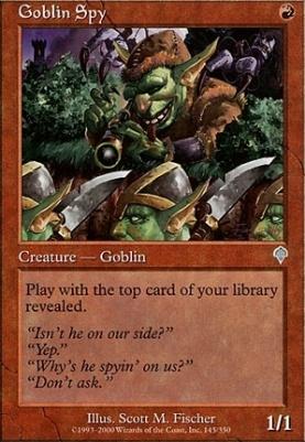 Invasion Foil: Goblin Spy