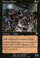 Invasion Foil: Goham Djinn