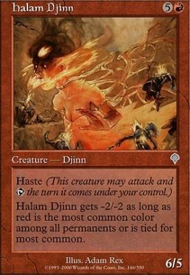 Invasion Foil: Halam Djinn