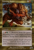 Invasion Foil: Hunting Kavu