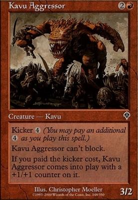 Invasion Foil: Kavu Aggressor