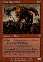 Invasion Foil: Kavu Aggressor