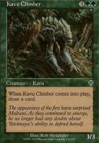 Invasion Foil: Kavu Climber