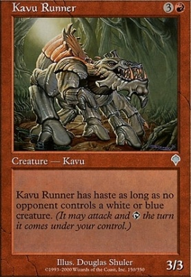 Invasion Foil: Kavu Runner