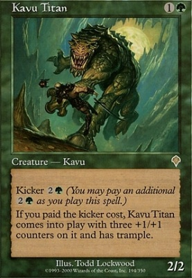 Invasion: Kavu Titan