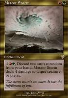 Invasion Foil: Meteor Storm