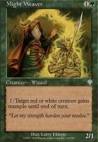 Invasion Foil: Might Weaver