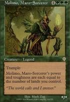 Invasion: Molimo, Maro-Sorcerer