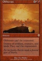 Invasion Foil: Obliterate