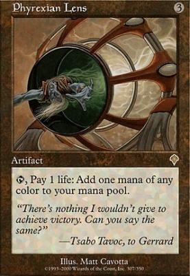Invasion: Phyrexian Lens