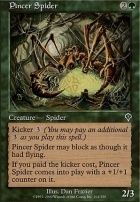 Invasion Foil: Pincer Spider
