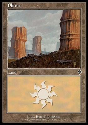 Invasion Foil: Plains (332 B)