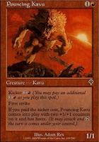 Invasion Foil: Pouncing Kavu