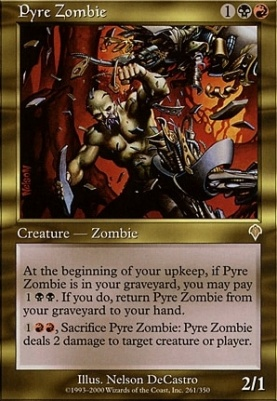 Invasion: Pyre Zombie