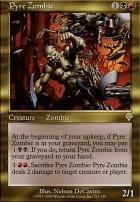 Invasion Foil: Pyre Zombie