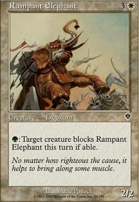 Invasion Foil: Rampant Elephant