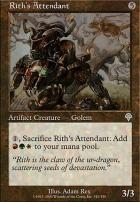 Invasion Foil: Rith's Attendant