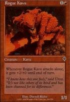 Invasion Foil: Rogue Kavu