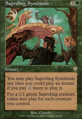 Invasion: Saproling Symbiosis