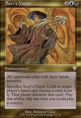 Invasion Foil: Seer's Vision