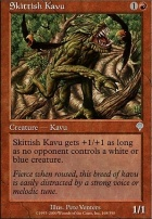 Invasion Foil: Skittish Kavu