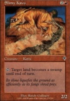Invasion Foil: Slimy Kavu