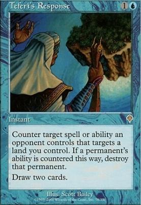 Invasion: Teferi's Response