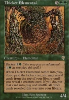 Invasion: Thicket Elemental