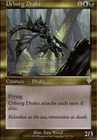 Invasion Foil: Urborg Drake