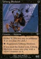 Invasion Foil: Urborg Skeleton