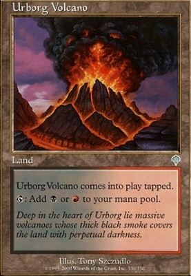 Invasion: Urborg Volcano