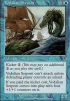 Invasion Foil: Vodalian Serpent