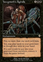 Invasion Foil: Yawgmoth's Agenda