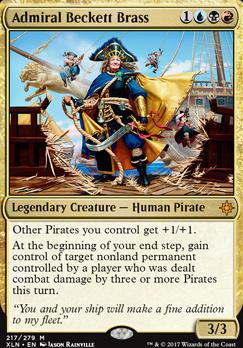 Ixalan: Admiral Beckett Brass