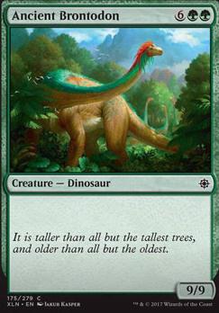 Ixalan: Ancient Brontodon