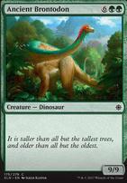 Ixalan Foil: Ancient Brontodon