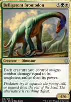 Ixalan: Belligerent Brontodon