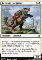 Ixalan Foil: Bellowing Aegisaur